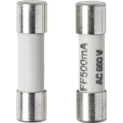 VOLTCRAFT Feinsicherung (Ø x L) 5mm x 20mm 500mA 660V Superflink -FF- Inhalt