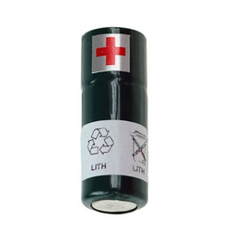 Sanyo 3CR1/3N Lithium Batterie 3/CR1/3N, DTM3100, 9 Volt mit 170mAh