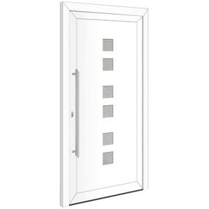 RORO Türen & Fenster Haustür Otto 17, BxH: 100x200 cm, weiß, ohne Griff