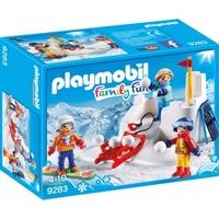 Playmobil Family Fun Schneeballschlacht