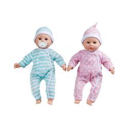 Melissa & Doug Babypuppe Babypuppen-Zwillinge Luke & Lucy