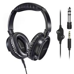Thomson HED4508 HQ TV Over Ear Kopfhörer Over Ear Headset, Lautstärkeregelung, Schwenkbare Ohrmusc