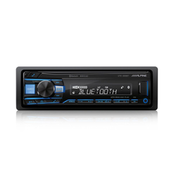 ALPINE Audio-System (Alpine UTE-200BT, Bluetooth, USB/MP3, 1-DIN Autoradio)