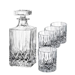 Aida Harvey Whiskey-Set Karaffe + 4 Glas 24 cl