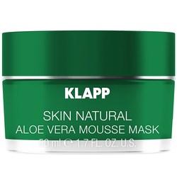 Klapp Cosmetics Skin Natural Aloe Vera Mousse Maske 50 ml