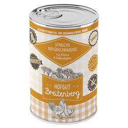 (5,31 EUR/kg) Hofgut Breitenberg Junior Strolchs Geflügelfrikassee mit Kürbis & Süßkartoffeln 400 g - 12 Stück