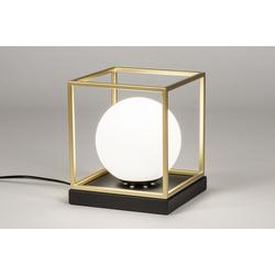 Tischleuchte Modern Retro Zeitgemaess Klassisch Art Deco Glas Mit 13862