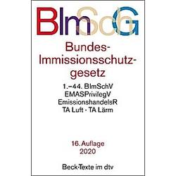 Bundes-Immissionsschutzgesetz BImSchG - Buch