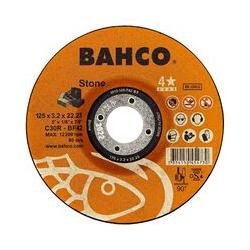 Lot de 25 disques à tronçonner pour minéraux Bahco 3912-125-T42-ST pour outillage électroportatif.
