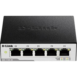 D-Link 5-Port Gigabit Smart Switch Netzwerk Switch 5 Port 1 GBit/s