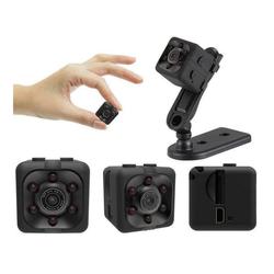 cofi1453 cofi1453® Mini Kamera SQ11 1080P Full-HD Web-Cam IR-Beleuchtung Nachtsmodus Überwachung SD-Karte für Laptop, Notebook, Computer HD-Kamera