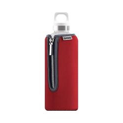 Sigg Trinkflasche SIGG Trinkflasche STELLA Red, Glas mit rot