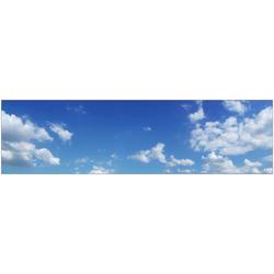 Küchenrückwand - Spritzschutz profix, Himmel, 220x60 cm blau