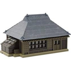 Rokuhan 7297202 Z Haus mit dunkelblauen Metalldach