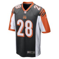 NFL Cincinnati Bengals (Joe Mixon) American Football-Spieltrikot für Herren - Schwarz, size: S
