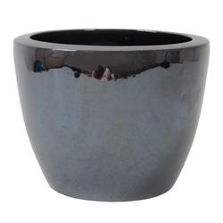 Dehner Übertopf Premium Keramik-Topf Valencia, rund