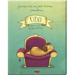 Udo braucht Personal als Buch von Jana Heinicke