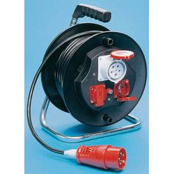 Kunststoff Kabeltrommel 16A/ 400V/ 5-Pol ohne Kabel