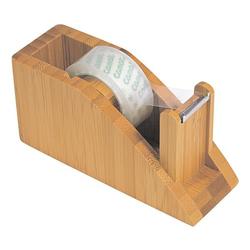 Klebeband-Abroller »Bambus«, Wedo, 11.8x5.8x4.2 cm