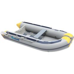 VIAMARE Schlauchboot 270 S Slat grau Wasserspielzeug Outdoor-Spielzeug