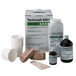 Technovit »6091« 10x Klauenklötze · inkl. Beschleuniger, 1kg