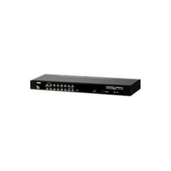 ATEN KVM-/USB-Switch PS/2 USB 16 x KVM / USB, 1 lokaler Benutzer, Desktop (CS1316)