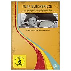 Fünf Glückspilze - DVD  Filme