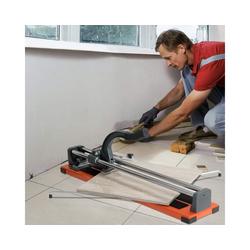 COSTWAY Fliesenschneider Handfliesenschneider, 61 cm Schnittlänge /Winkel von 0° bis 60° 17 cm x 14 cm x 80 cm