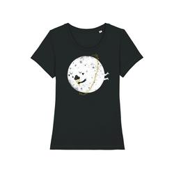 wat? Apparel Print-Shirt Planet Mit Eis XS