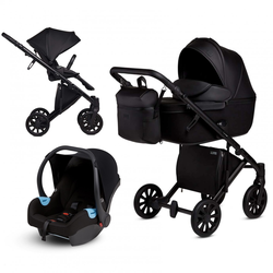 Anex e/type 3 in 1 Kinderwagenset 2020 (9 Farben) Noir