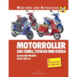 Motorroller aus China Taiwan und Korea als Buch von Phil Mather