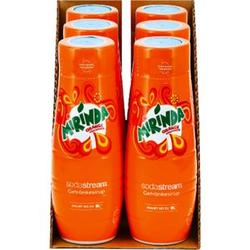 Sodastream Sirup Orange 0,5 Liter, 6er Pack