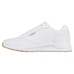Kappa BASE II Sneaker mit ultraleichter Laufsohle weiß 37