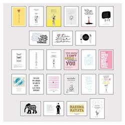 Stay inspired - Postkartensprüche 3