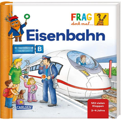 Frag doch mal ... die Maus!: Eisenbahn: Buch von