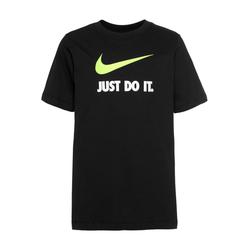 Nike Sportswear Shirt 'Just do it Swoosh' schwarz