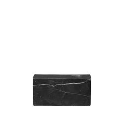 BLOMUS Kerzenhalter BLOC Marmor Black