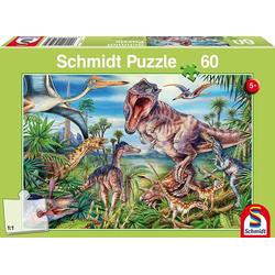 Schmidt 56193 - Bei den Dinosauriern Puzzle