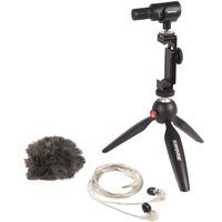 Shure MV88+SE215-CL-EFS Portable videography kit