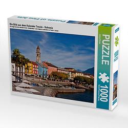 Ein Bild aus dem Kalender Tessin - Schweiz Lege-Größe 64 x 48 cm Foto-Puzzle Bild von Joana Kruse Puzzle