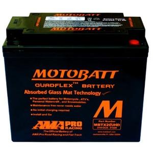 Motorradbatterie 12 V 21 Ah 310 CCA MBTX20UHD für Harley Davidson XLH Sportster 1200 1997 2005