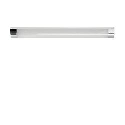 LED-Badleuchte, 1-flammig, Kristalloptik ´mittel´ ¦ silber