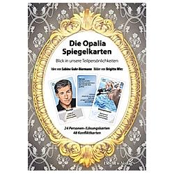 Die Opalia Spiegelkarten, m. 1 Buch; .