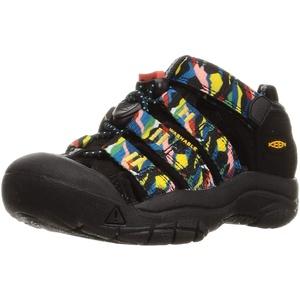 KEEN Newport H2 Sandal, Black/Multi, 34 EU