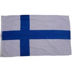 XXL Flagge Finnland 250 x 150 cm Fahne mit 3 Ösen 100g/m² Stoffgewicht