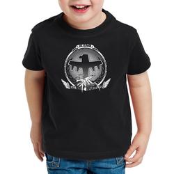 style3 Print-Shirt Kinder T-Shirt Mobile Infantry Veteran starship infanterie weltraum 140