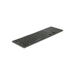 Delock Funktastatur mit Touchpad Tastatur
