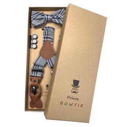 Prince Bowtie Hosenträger Hosenträger Set mit Fliege im Vintage Style Prince Bowtie Hosenträger Set mit Fliege im Vintage Style