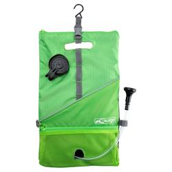 Kurgo Hundedusche Go Shower Bag grün, Maße: ca. 34 x 18 x 5 cm