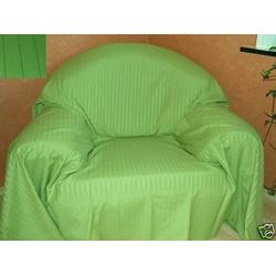 Überwurf Überwurf Sofaüberwurf Tagesdecke grün 350 x 275cm Textil schmutzabweisend, Clever-Kauf-24